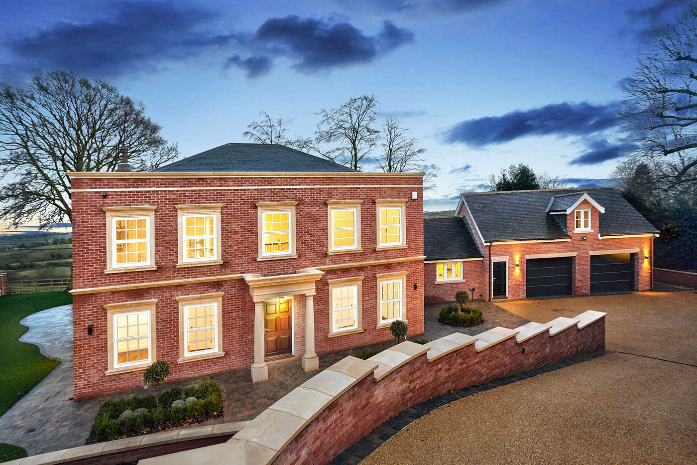 Twilight Exterior Photography in Petts Wood
